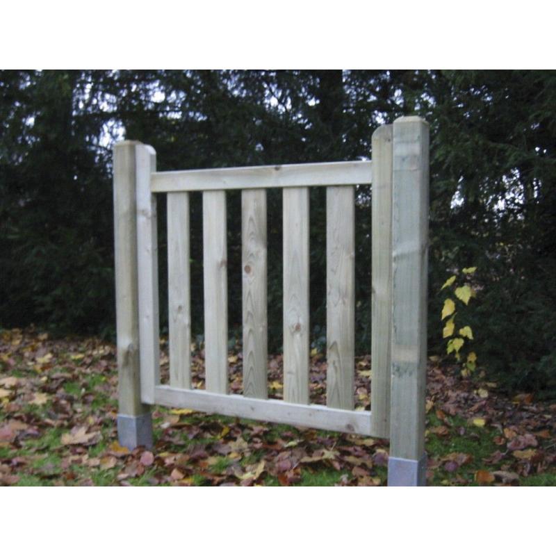 Puerta valla castillo forestgreen - Puertas de valla ...