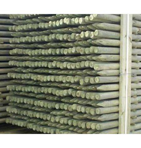 TUTORES PINO 1,5 M 4 CM CON PUNTA (CLASE DE USO IV)
