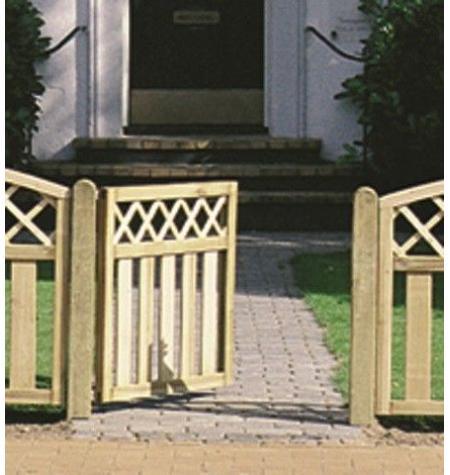 Puerta Vallado Copenhague · Ref. 130124