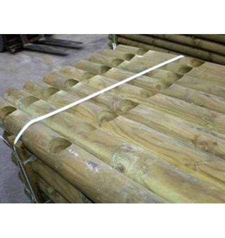 Postes Torneados Encastrado 1,50 m x 12 cm diam 2 aguj 8 cm