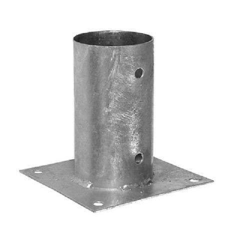 soporte para poste redondo 8 cm